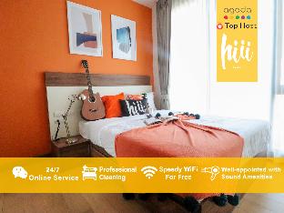 [チャンカラン]アパートメント(33m2)| 1ベッドルーム/1バスルーム [hiii]Lycaste*InfinityPool*NightBazaar-CNX041