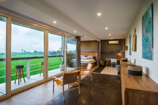 SEAWAY VILLA - ricefield + ocean view design villa