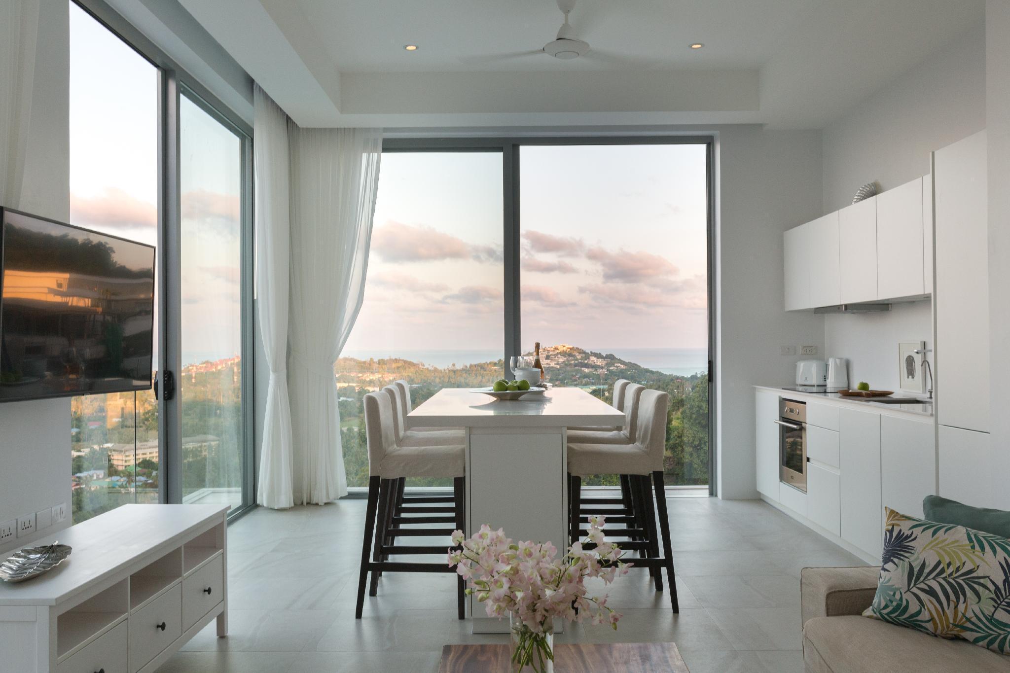 Sam-kah Residence 8 Suite 2 อพาร์ตเมนต์ 2 ห้องนอน 2 ห้องน้ำส่วนตัว ขนาด 125 ตร.ม. – เชิงมน