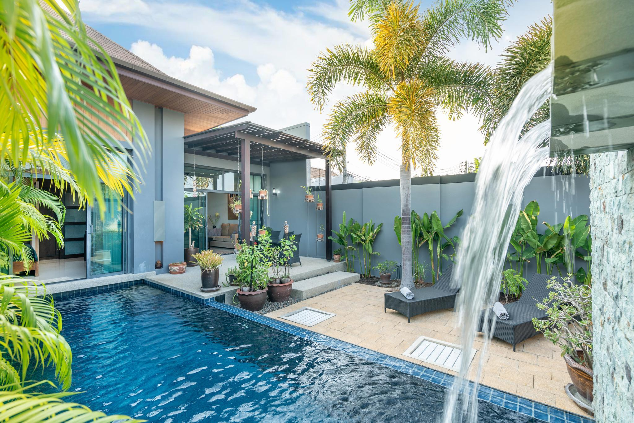 Onyx Lite 2 Bedrooms Villa With Pool Nai Harn