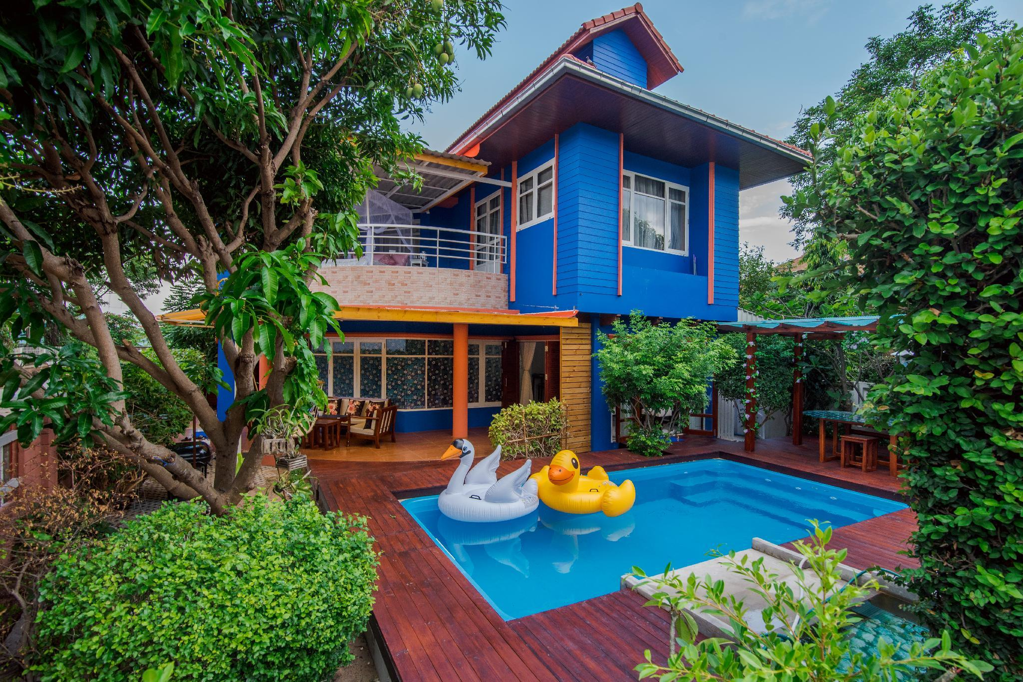 Island Blue Home Pool Villa