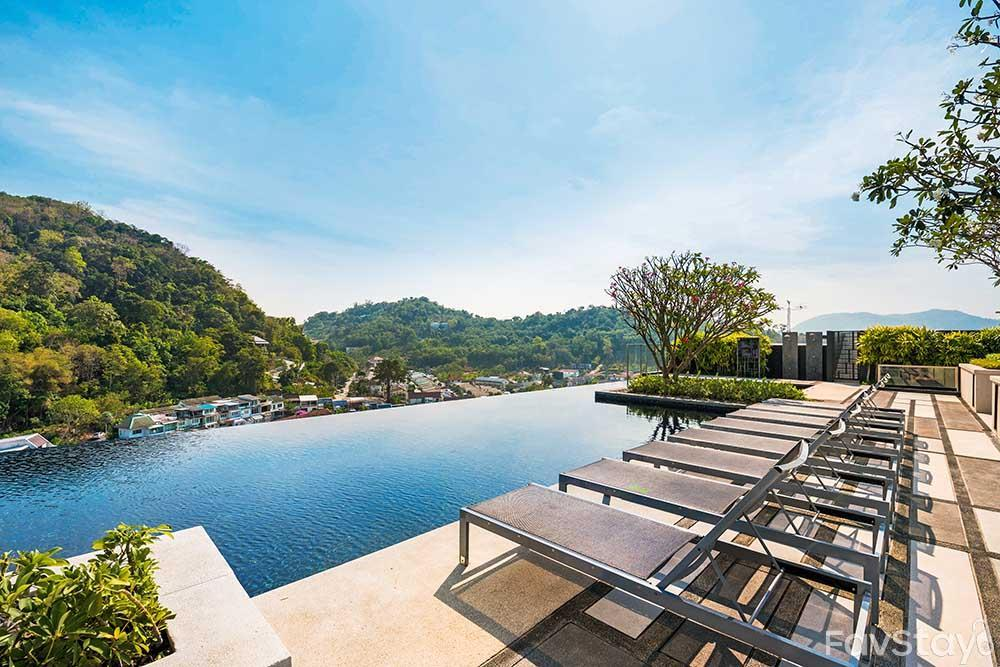 Awesome Sky Pool Rooftop 1BR Phuket City