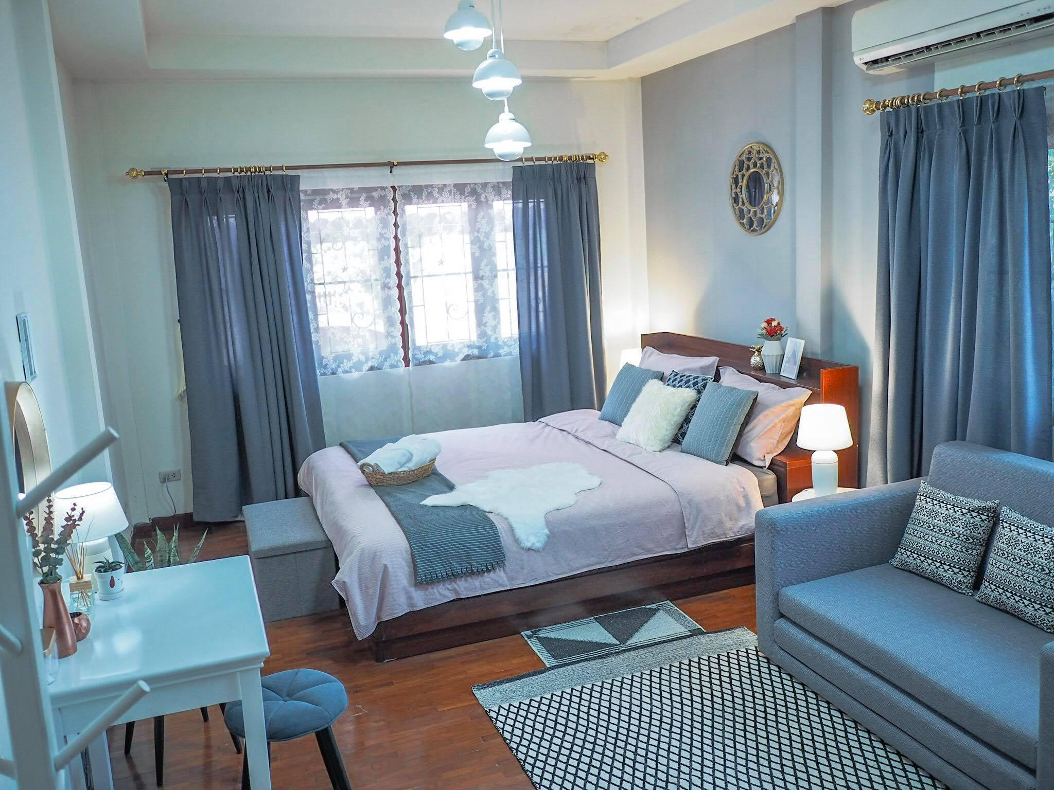 Wualai Sweet Home, near old city, free pick up บ้านเดี่ยว 3 ห้องนอน 2 ห้องน้ำส่วนตัว ขนาด 150 ตร.ม. – วัวลาย