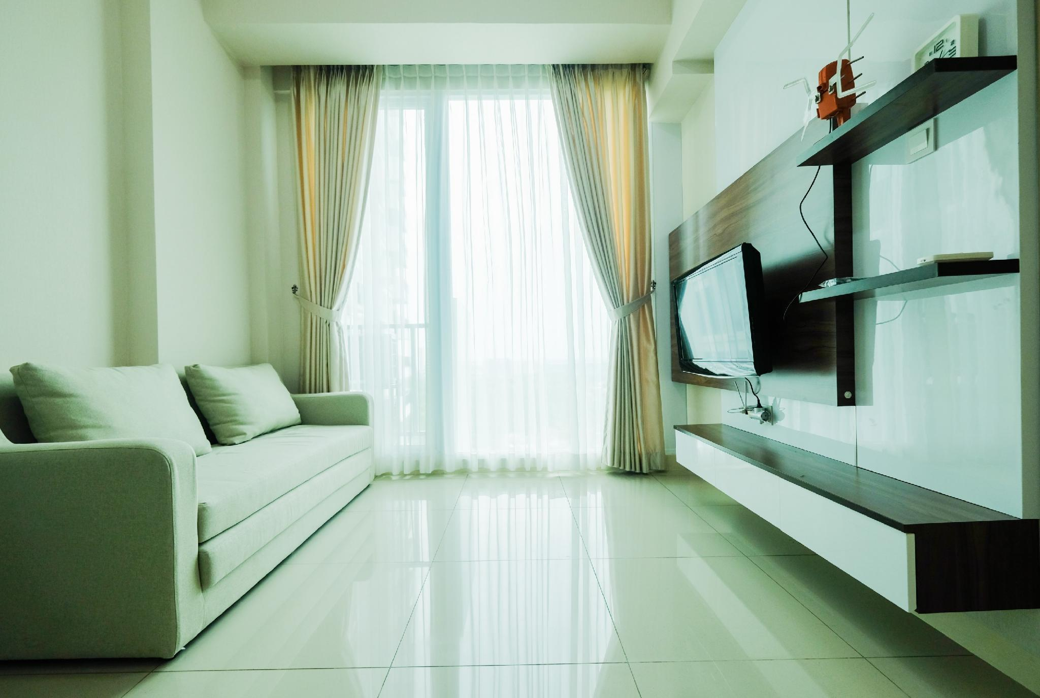 New Furnished 1BR @ Tree Park Apt BSD By Travelio