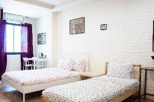 [バンセーン]スタジオ アパートメント(38 m2)/1バスルーム Studio for 3 @26 bed and coffee