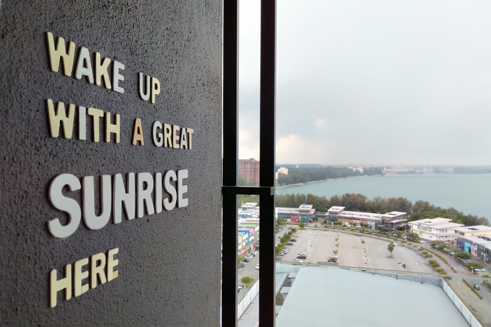 Romantic Sunrise Seafront Apartment@PD Waterfront