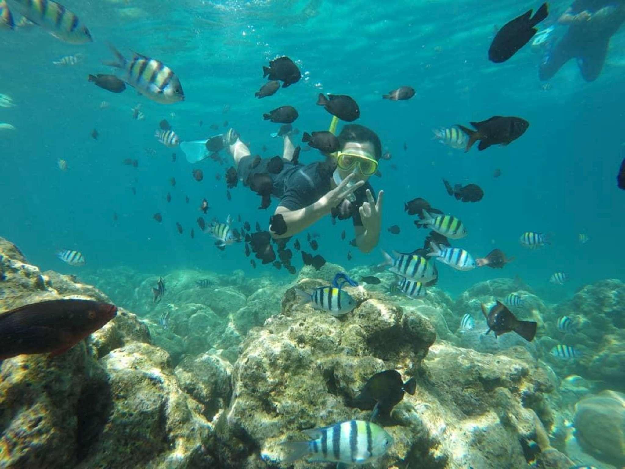 Pantai Iboih Wisata Sabang View Rubiah Island