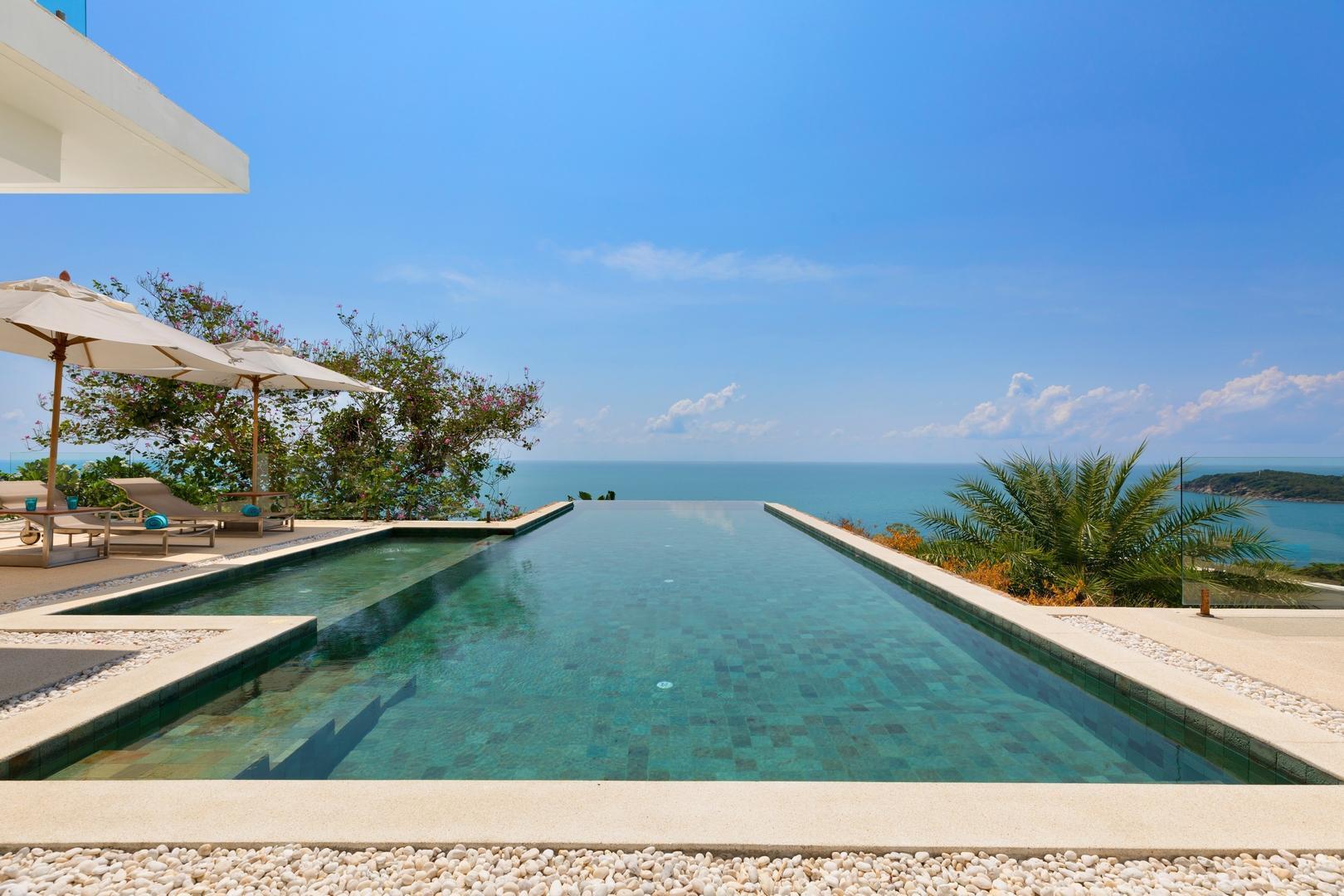 Turquoise Villa 1 绿松石别墅1号 วิลลา 4 ห้องนอน 5 ห้องน้ำส่วนตัว ขนาด 850 ตร.ม. – เชิงมน