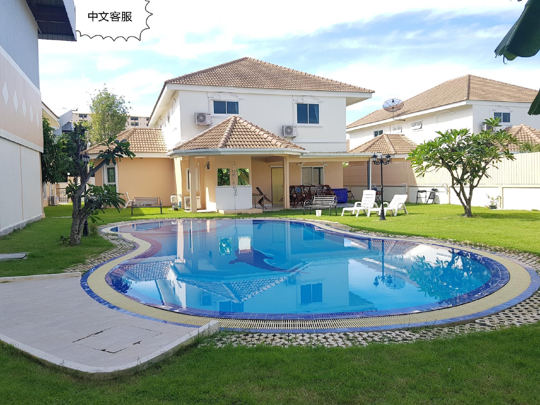 Central Pattaya 7 Bedroom Pool Villa   231