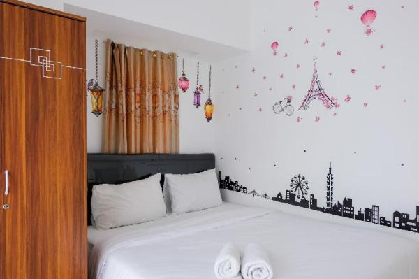 Simply 1BR M-Town Residence Apartement By Travelio Tangerang