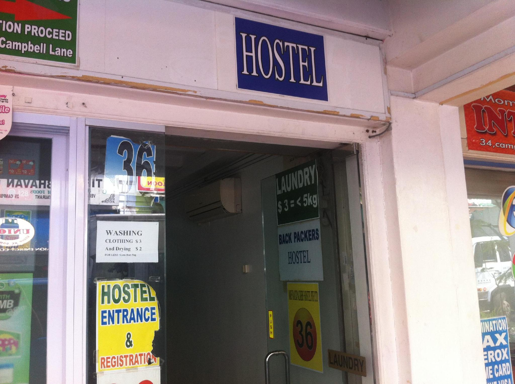 MKS Backpackers Hostel – Campbell Lane