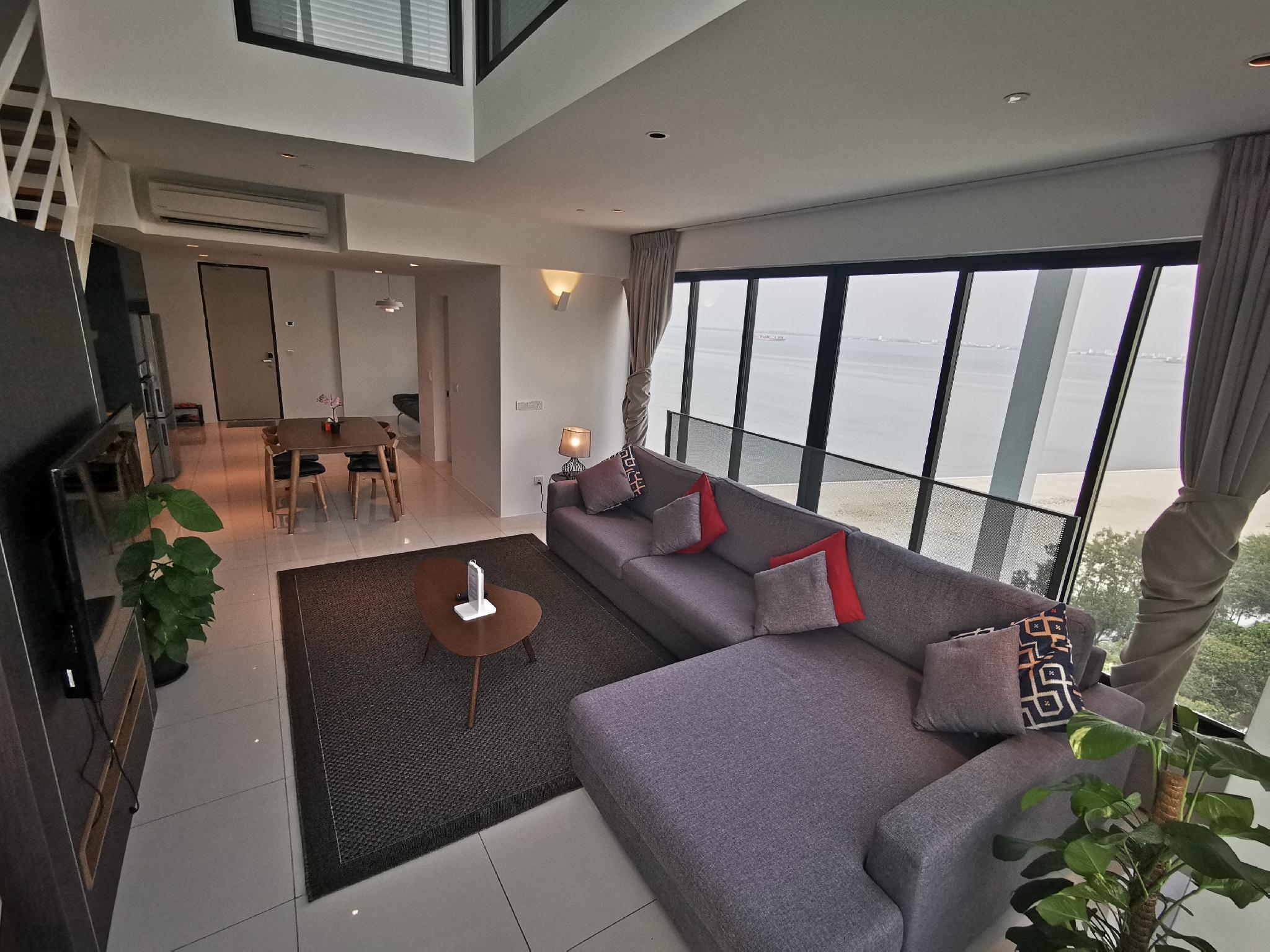 2BR Family Suite 12 @ Sunrise Gurney Penang
