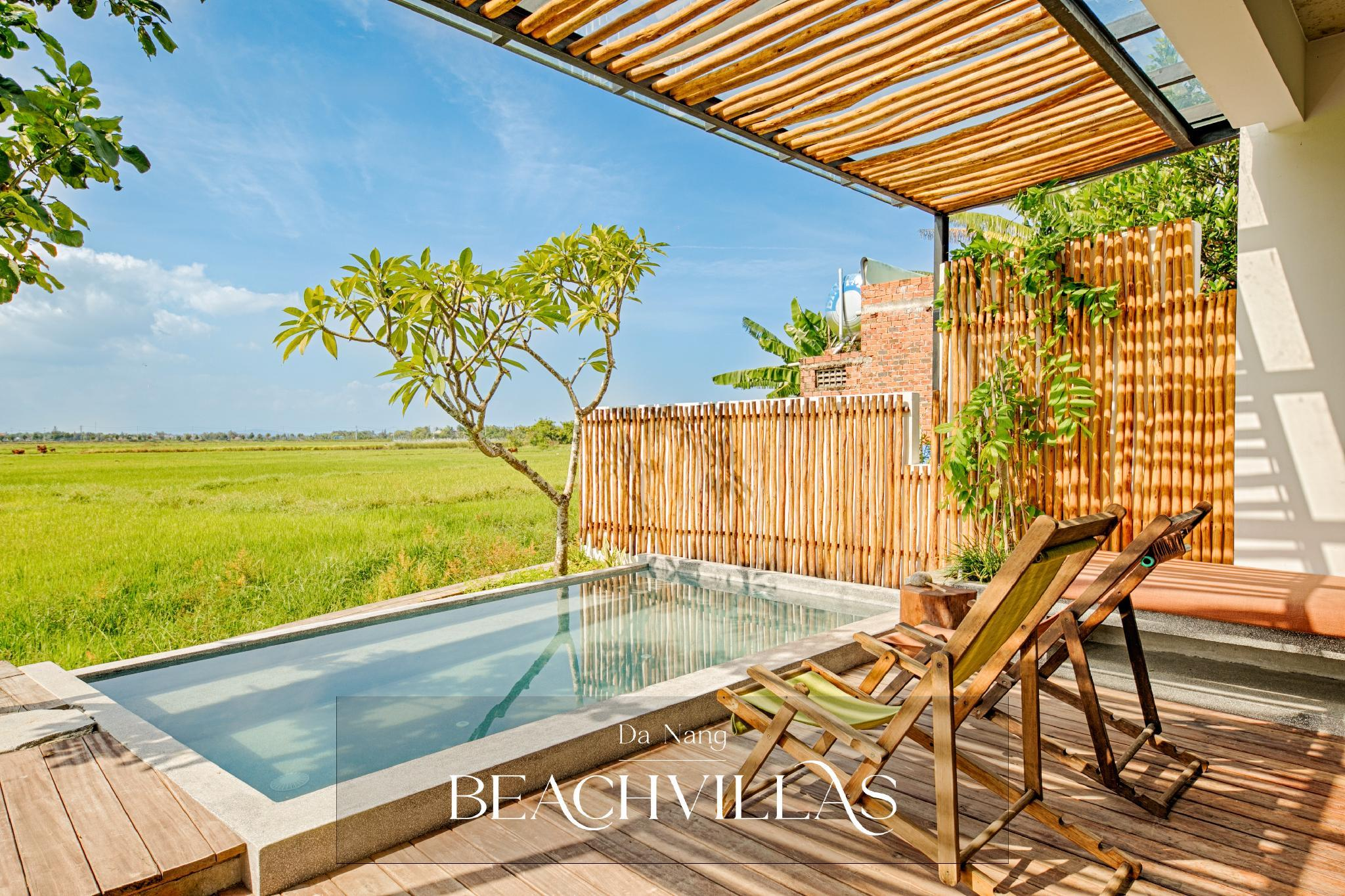 Gorgeous Pool Villa Surrounded By Rice Paddies