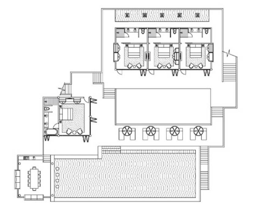 Top end Infinity Pool Villa Combo - 9 bedroom วิลลา 9 ห้องนอน 9 ห้องน้ำส่วนตัว ขนาด 300 ตร.ม. – หาดบ่อผุด