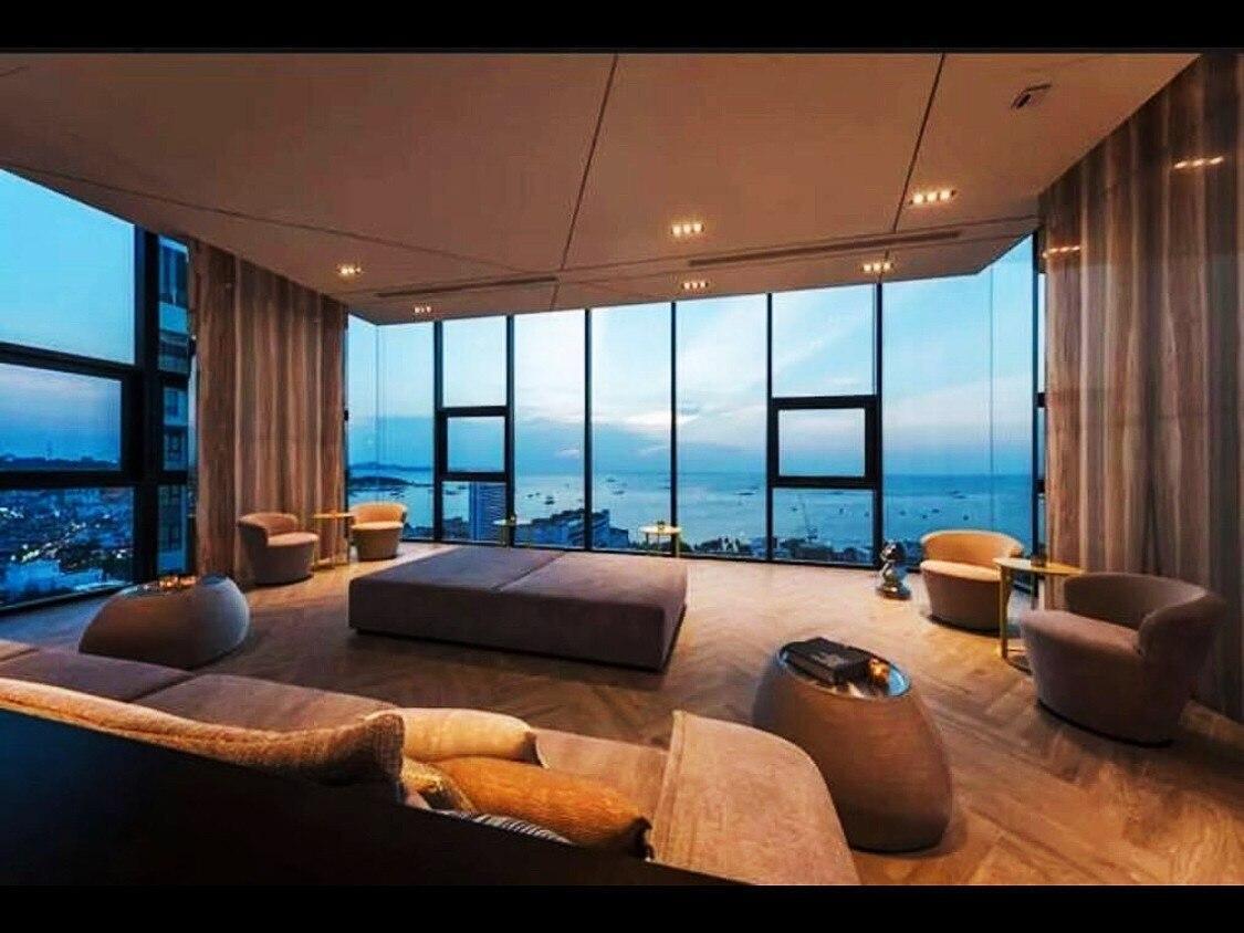 Seaview, 90 sqm, 2 rooms, infinity pool อพาร์ตเมนต์ 2 ห้องนอน 1 ห้องน้ำส่วนตัว ขนาด 90 ตร.ม. – พัทยากลาง