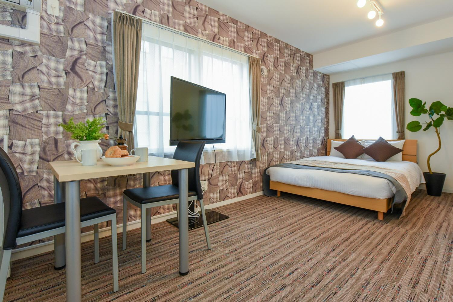 Residence Plus Sapporo 1A 14 New Room In Susukin
