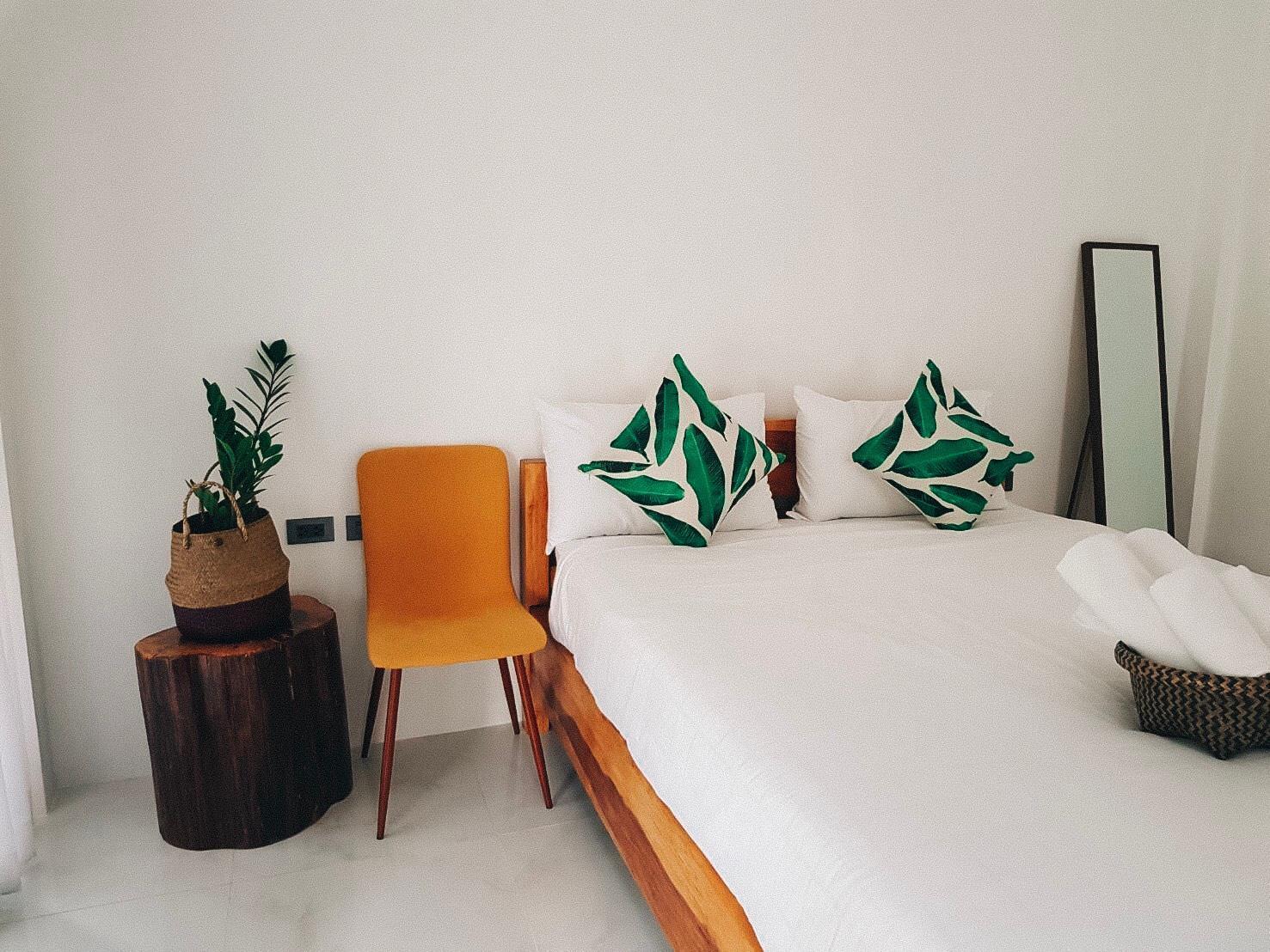 Maliblue cafe and bed,khanom สตูดิโอ บังกะโล 1 ห้องน้ำส่วนตัว ขนาด 32 ตร.ม. – ริมน้ำ