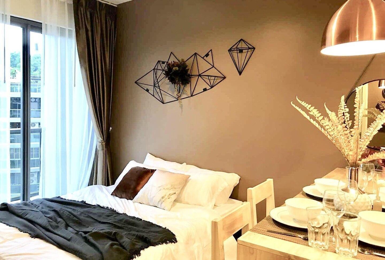 1-4PAX Luxury Condo 10min Balihai South Pattaya อพาร์ตเมนต์ 1 ห้องนอน 1 ห้องน้ำส่วนตัว ขนาด 35 ตร.ม. – พัทยาใต้