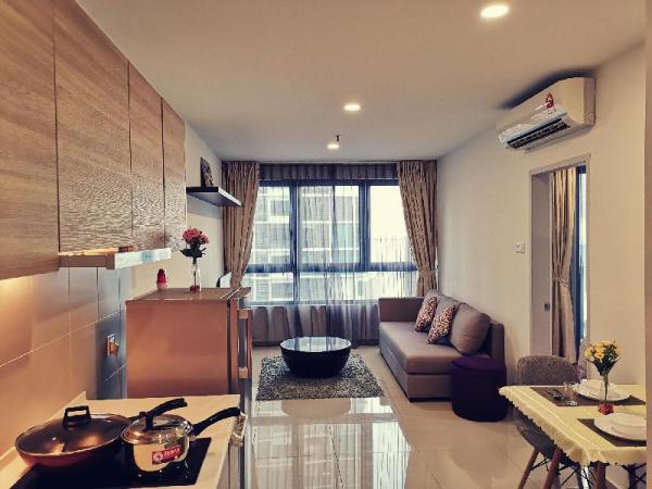 Cozy Guesthouse @ i-City (Pool View + Garden View) Shah Alam