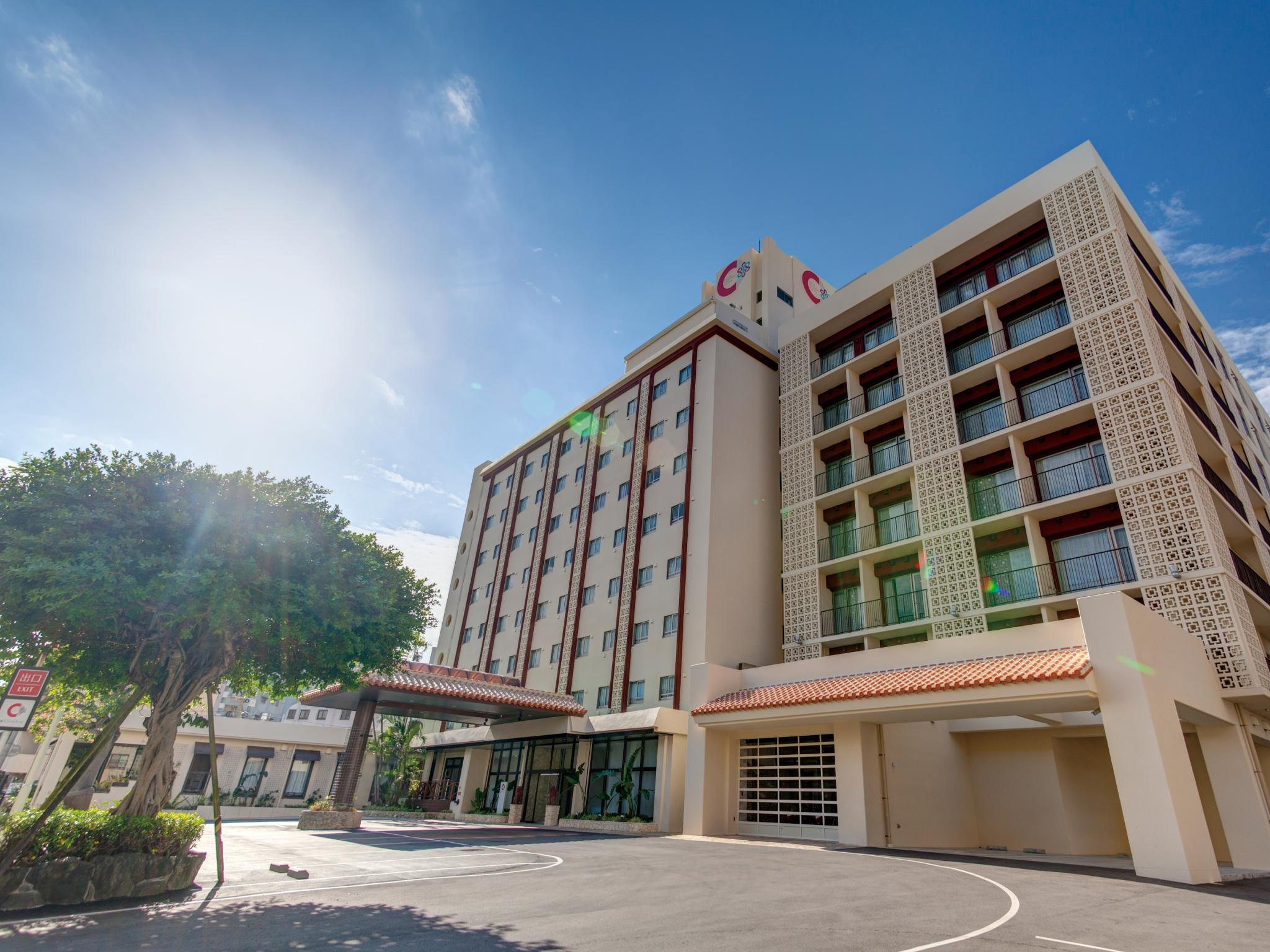 Community And Spa Naha Central Hotel