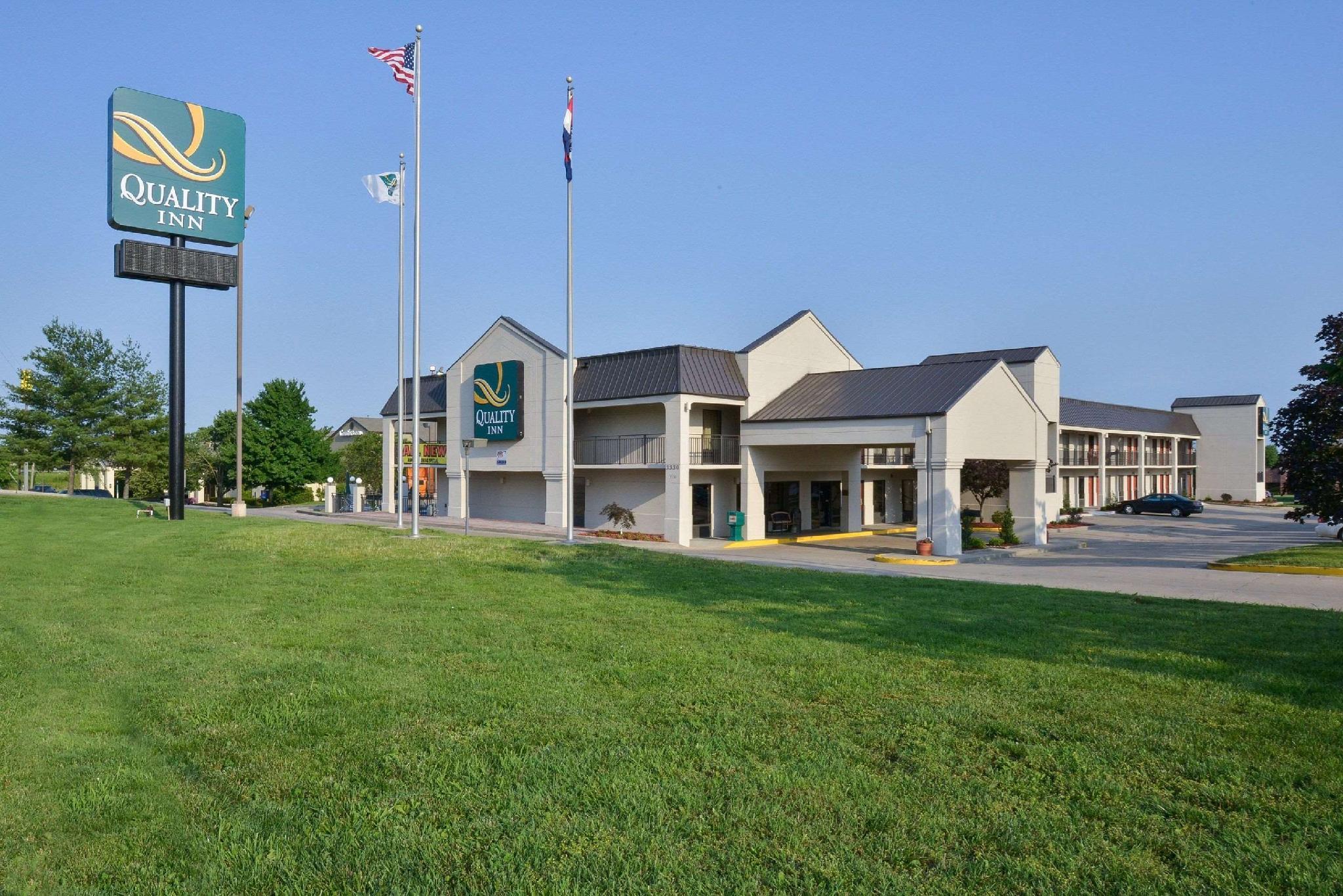 Quality Inn US65 And E Battlefield Rd Springfield