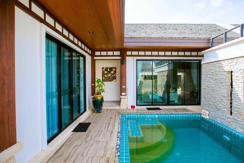 2C Seascape Walking Beach 300 meters, 2-bedroom วิลลา 2 ห้องนอน 2 ห้องน้ำส่วนตัว ขนาด 220 ตร.ม. – หาดราไวย์