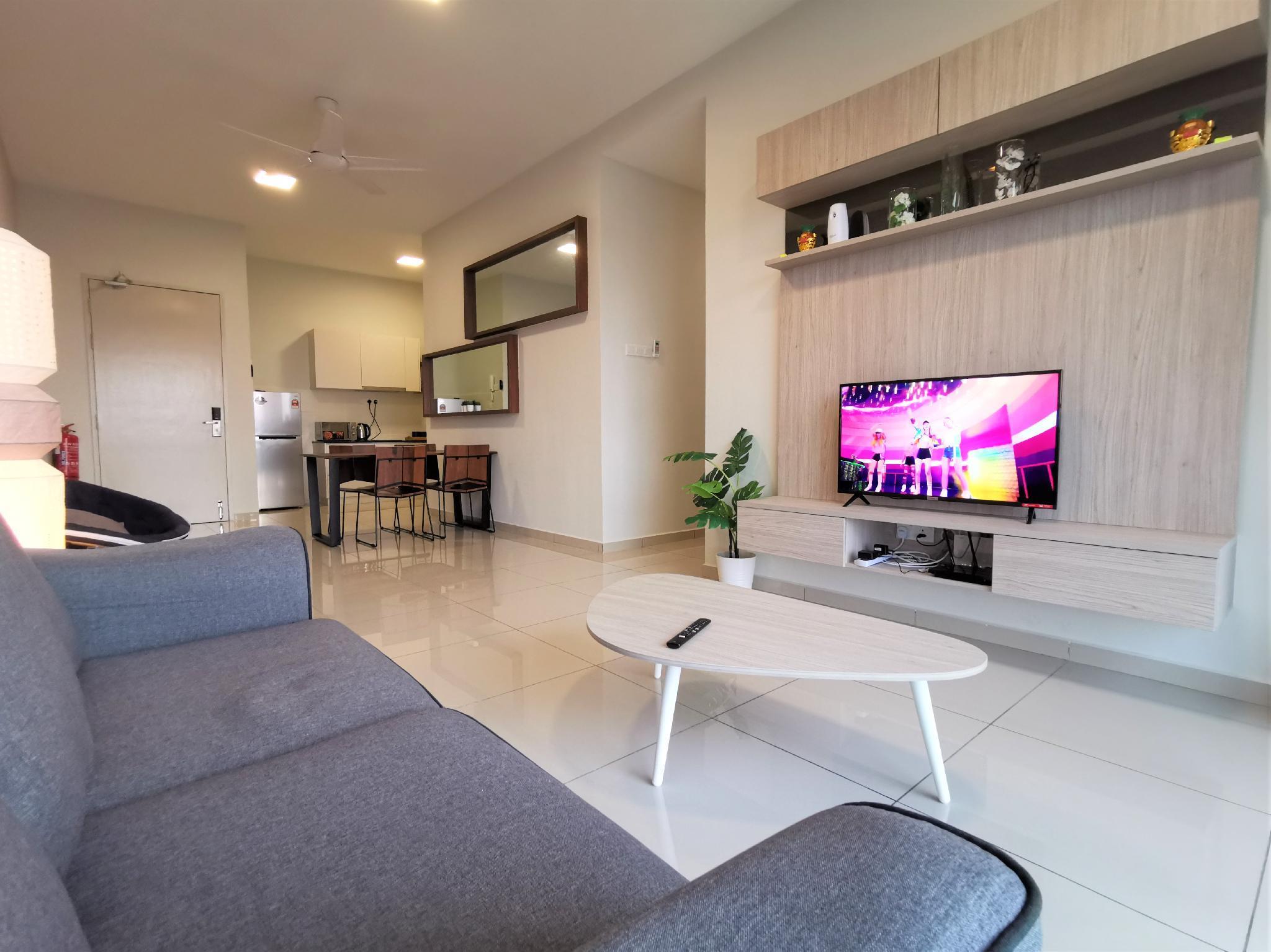 Malacca Homestay Parkland@6pax Free Wifi+Smart TV