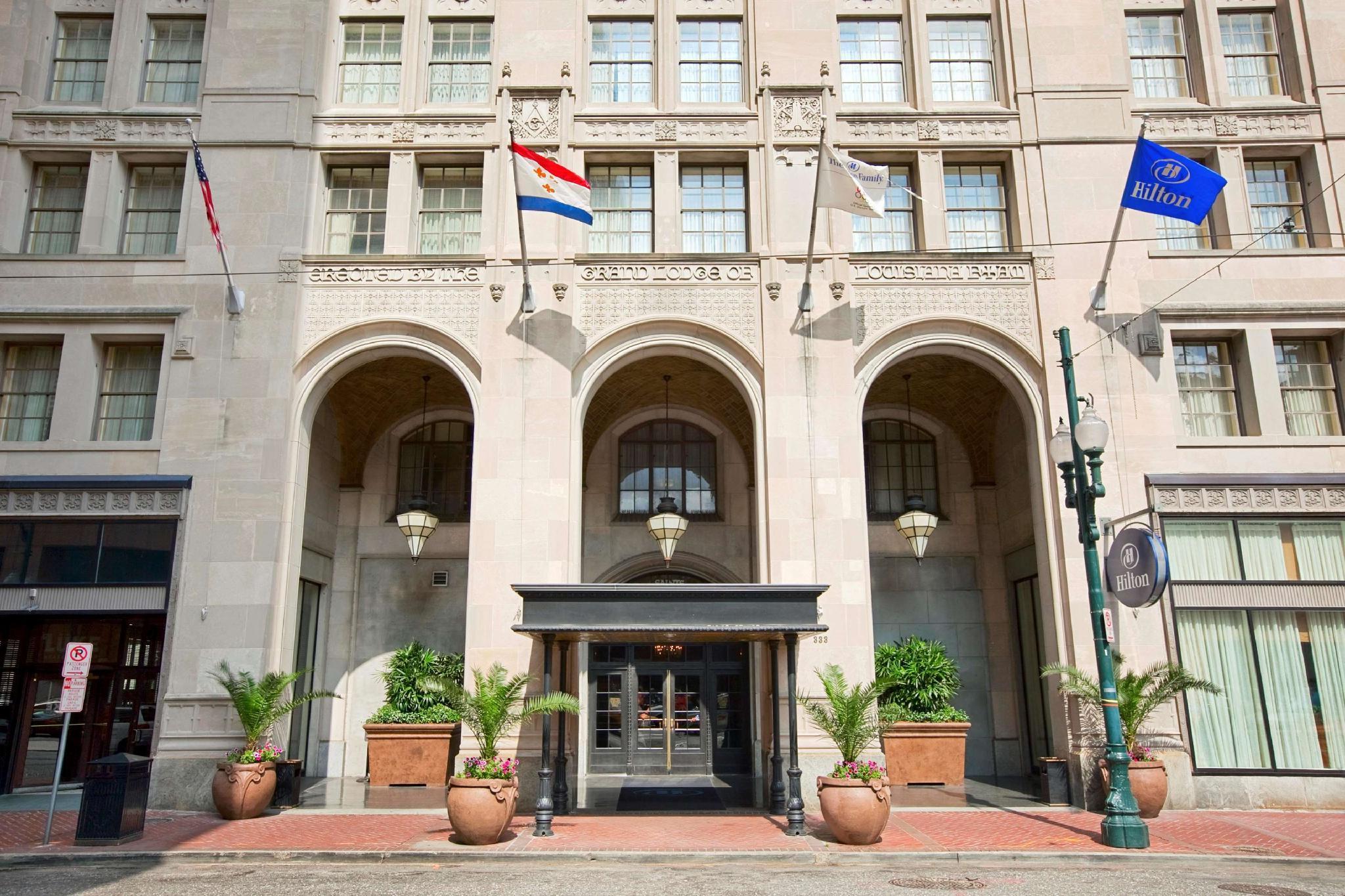 Hilton New Orleans St Charles Avenue Hotel