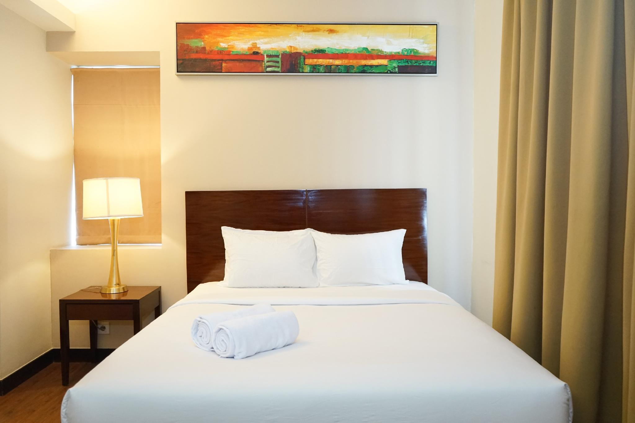 Exclusive 1BR @ Ancol Marina Apartment By Travelio