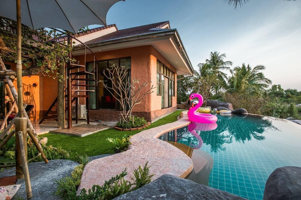 Tropical House Pool Villa