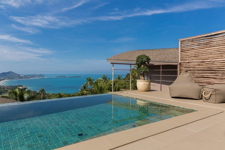 Villa Lanta 2Br Stunning Sea Views วิลลา 2 ห้องนอน 2 ห้องน้ำส่วนตัว ขนาด 150 ตร.ม. – เฉวงน้อย