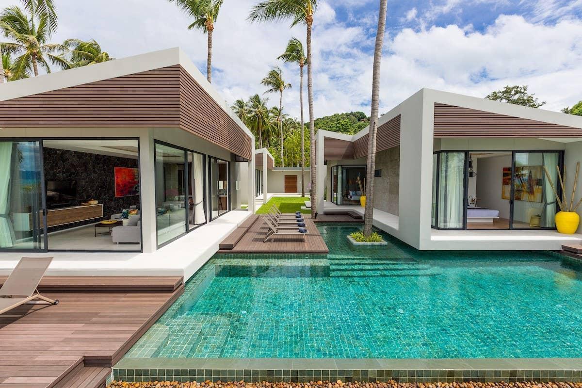 Villa Anar - 5 bedrooms beachfront วิลลา 5 ห้องนอน 5 ห้องน้ำส่วนตัว ขนาด 200 ตร.ม. – บางปอ