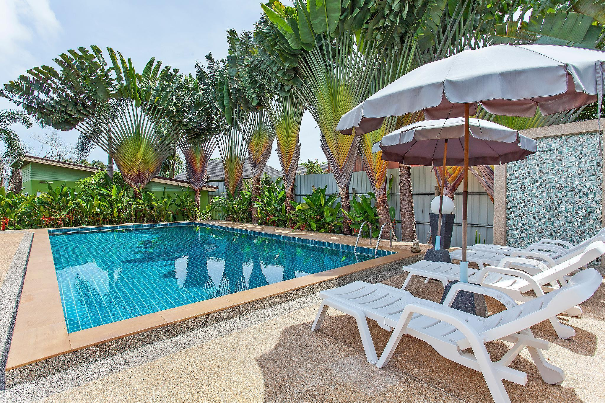Modern Garden Resort 9BR w/ Pool & Breakfast วิลลา 9 ห้องนอน 9 ห้องน้ำส่วนตัว ขนาด 2400 ตร.ม. – บางเทา