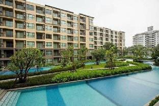 [チャアム ビーチフロント]アパートメント(40m2)| 2ベッドルーム/1バスルーム Cosy Pool view at Rain Cha Am/Hua Hin with Netflix