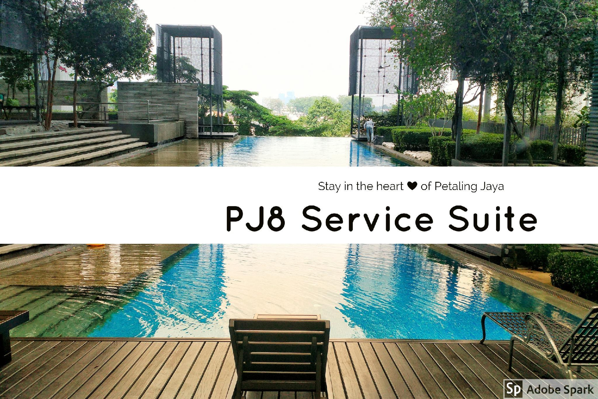 PJ8 Service Suite 2 BR Pool View And Near Train