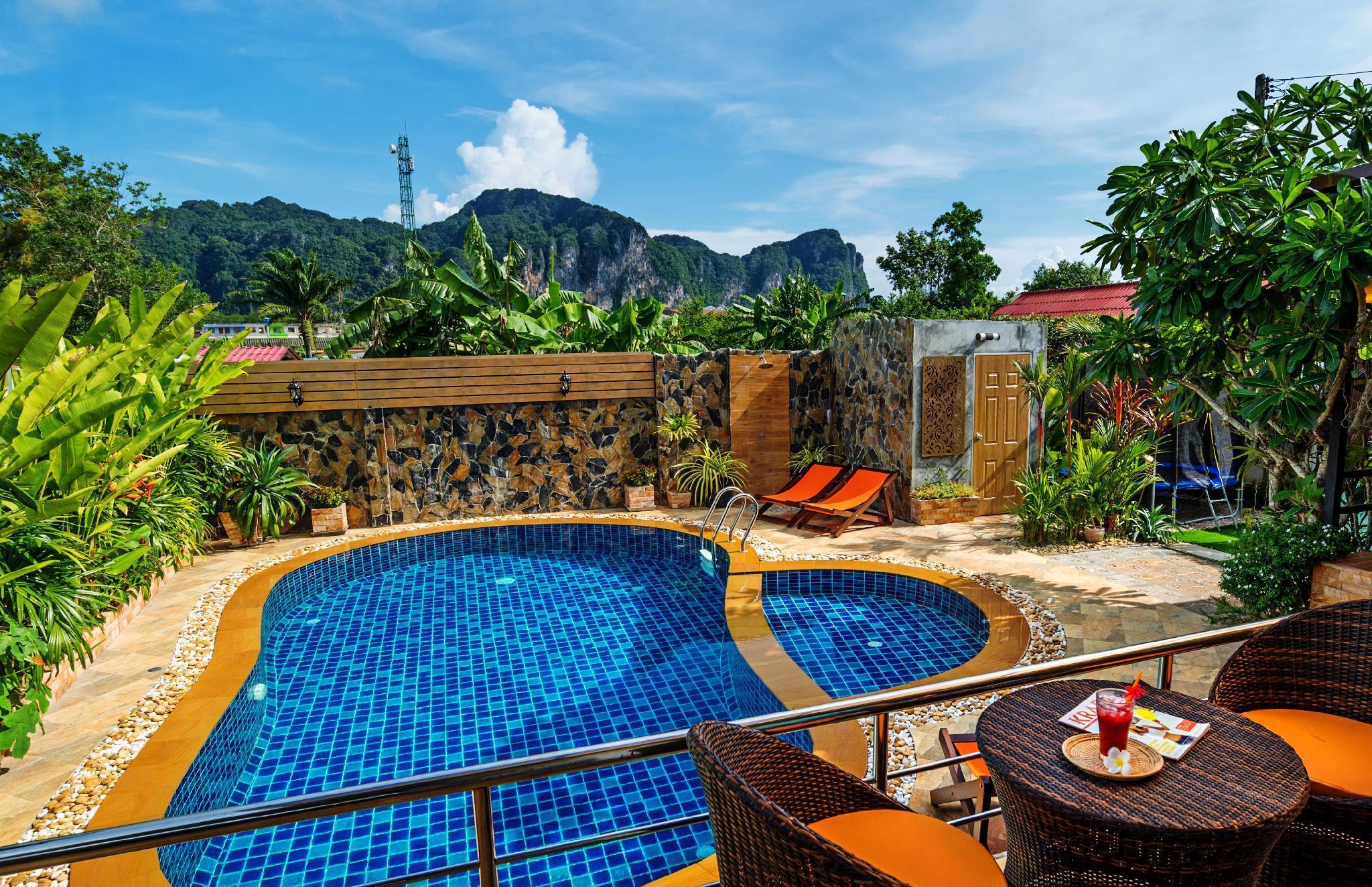 Ao Nang SERENE private pool villa วิลลา 3 ห้องนอน 3 ห้องน้ำส่วนตัว ขนาด 375 ตร.ม. – อ่าวนาง