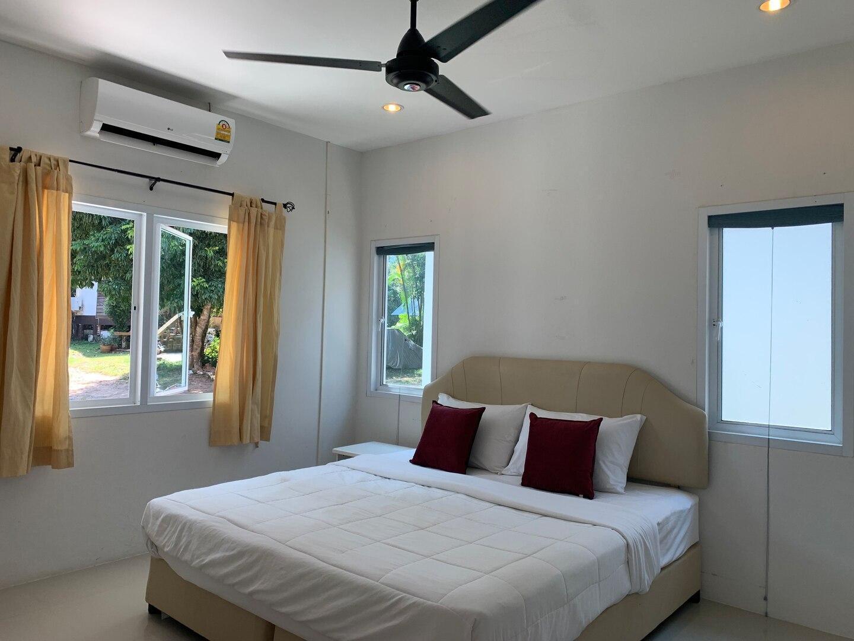 1 bed room-deluxe bungalow - Bophut Koh Samui (V8) บังกะโล 1 ห้องนอน 1 ห้องน้ำส่วนตัว ขนาด 40 ตร.ม. – หาดบ่อผุด