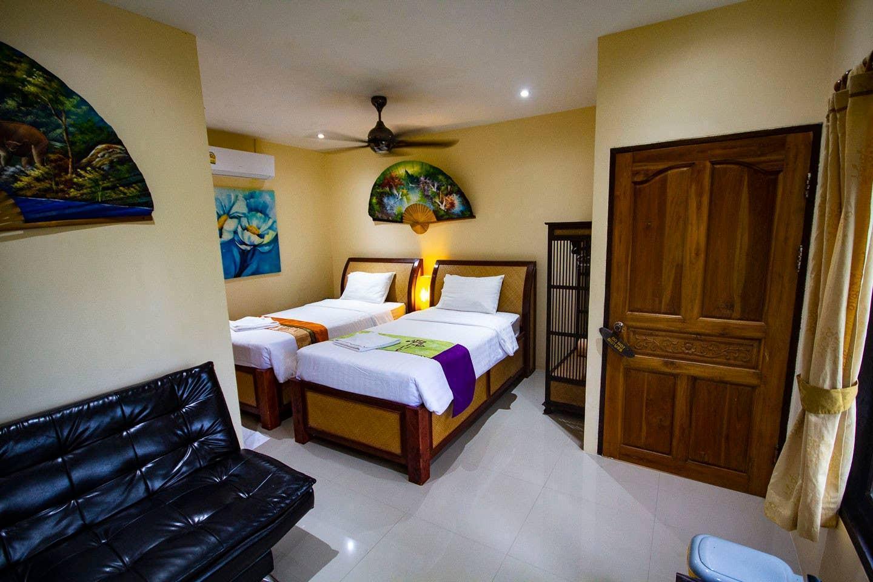 1 Bedroom Bungalow near the Beach - Koh Phangan บังกะโล 1 ห้องนอน 1 ห้องน้ำส่วนตัว ขนาด 15 ตร.ม. – วกตุ่ม