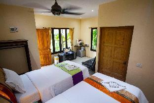 [ウォックトゥム]バンガロー(15m2)| 1ベッドルーム/1バスルーム 1 Bedroom Bungalow near the Beach - Koh Phangan