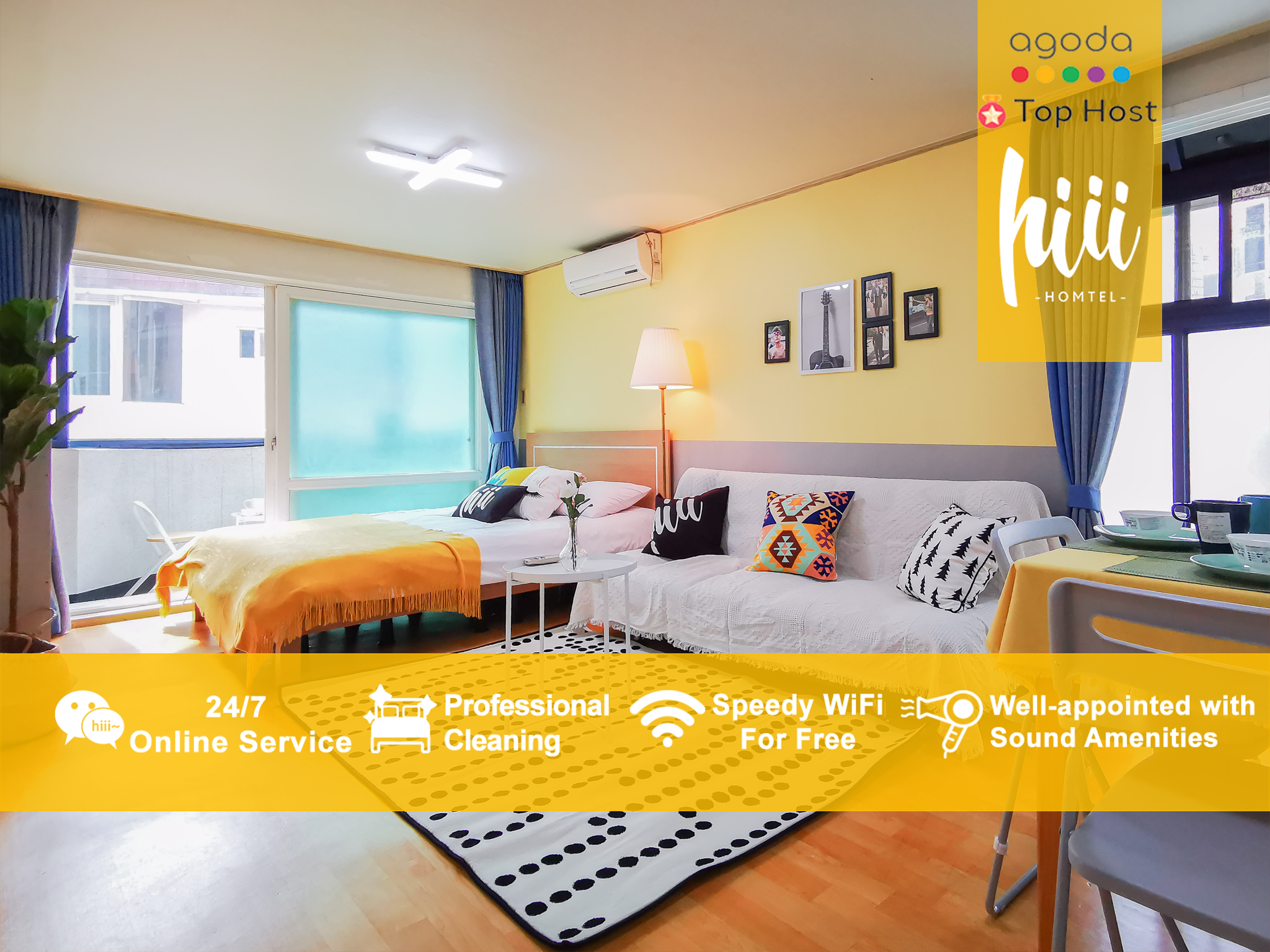 Hiii Pharbitis Hongdae NextTo Hongik Univ. ICN050