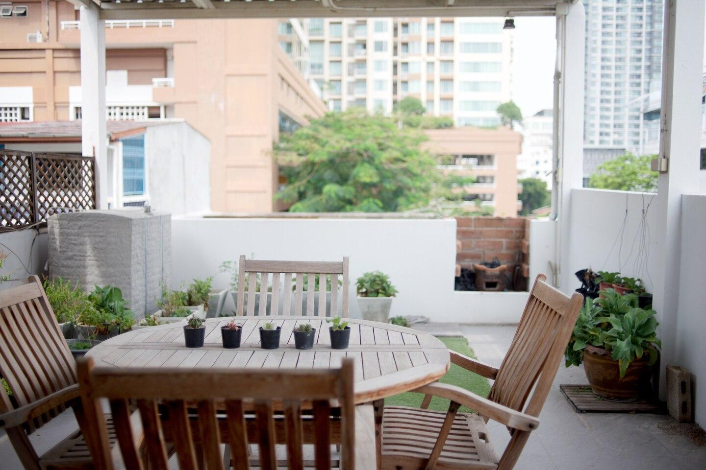 Elegant Oriental Home With Rooftop Terrace BTS