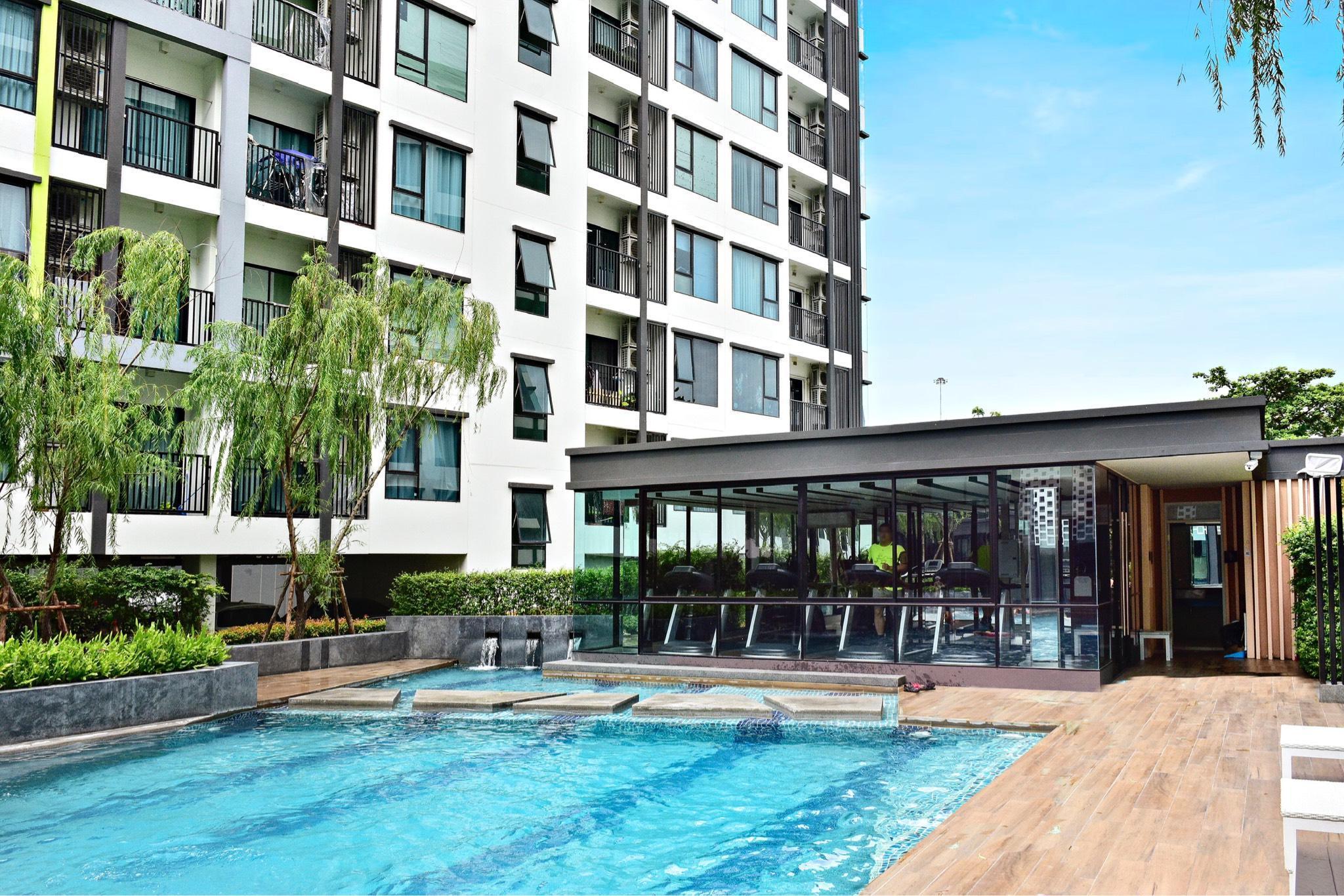BTS Onnut Nice Mono Apartment Swimmingpool