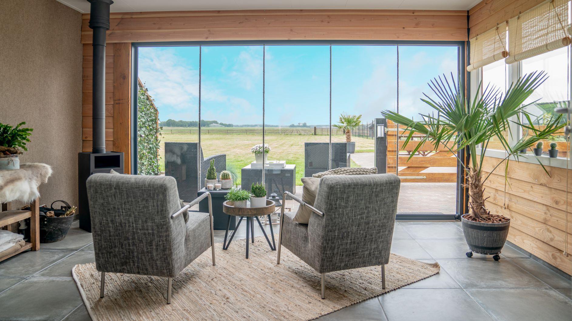 2  luxe gezellige appartementen (sauna)op landgoed