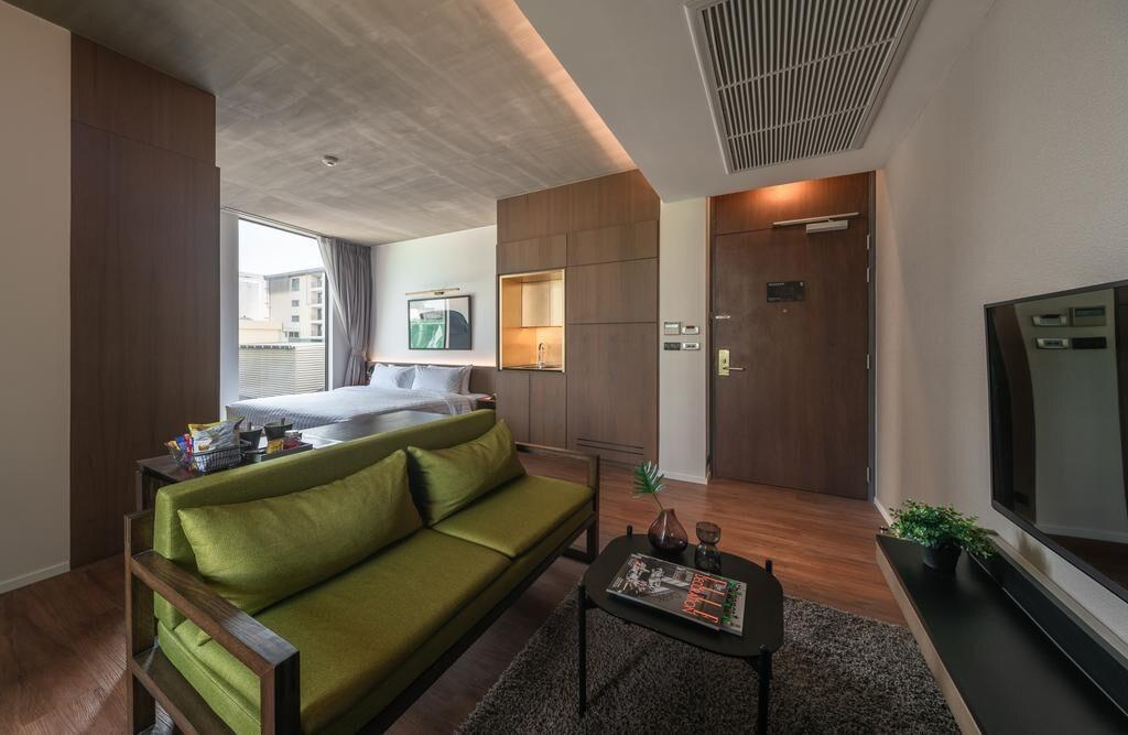 Apartment near Lumpinee park สตูดิโอ อพาร์ตเมนต์ 1 ห้องน้ำส่วนตัว ขนาด 60 ตร.ม. – ถนนวิทยุ
