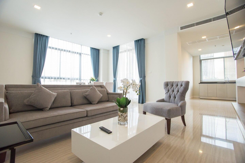 Stunning 2 Bedroom Apartment Soi 39 Sukhumvit อพาร์ตเมนต์ 2 ห้องนอน 2 ห้องน้ำส่วนตัว ขนาด 155 ตร.ม. – สุขุมวิท
