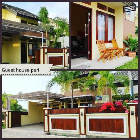 guest house family 3 bed room AC Lombok