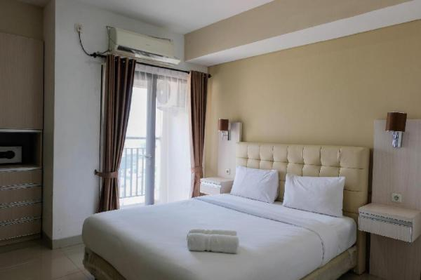 Best Price Studio Apartment at Atria Residence near Mall By Travelio Tangerang