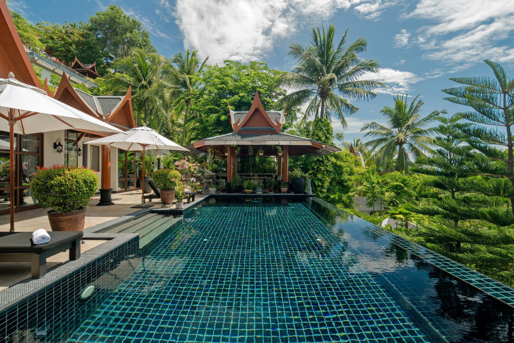 Ayara Hilltops 4BR Luxury Seaview Villa at Surin วิลลา 4 ห้องนอน 6 ห้องน้ำส่วนตัว ขนาด 1044 ตร.ม. – สุรินทร์