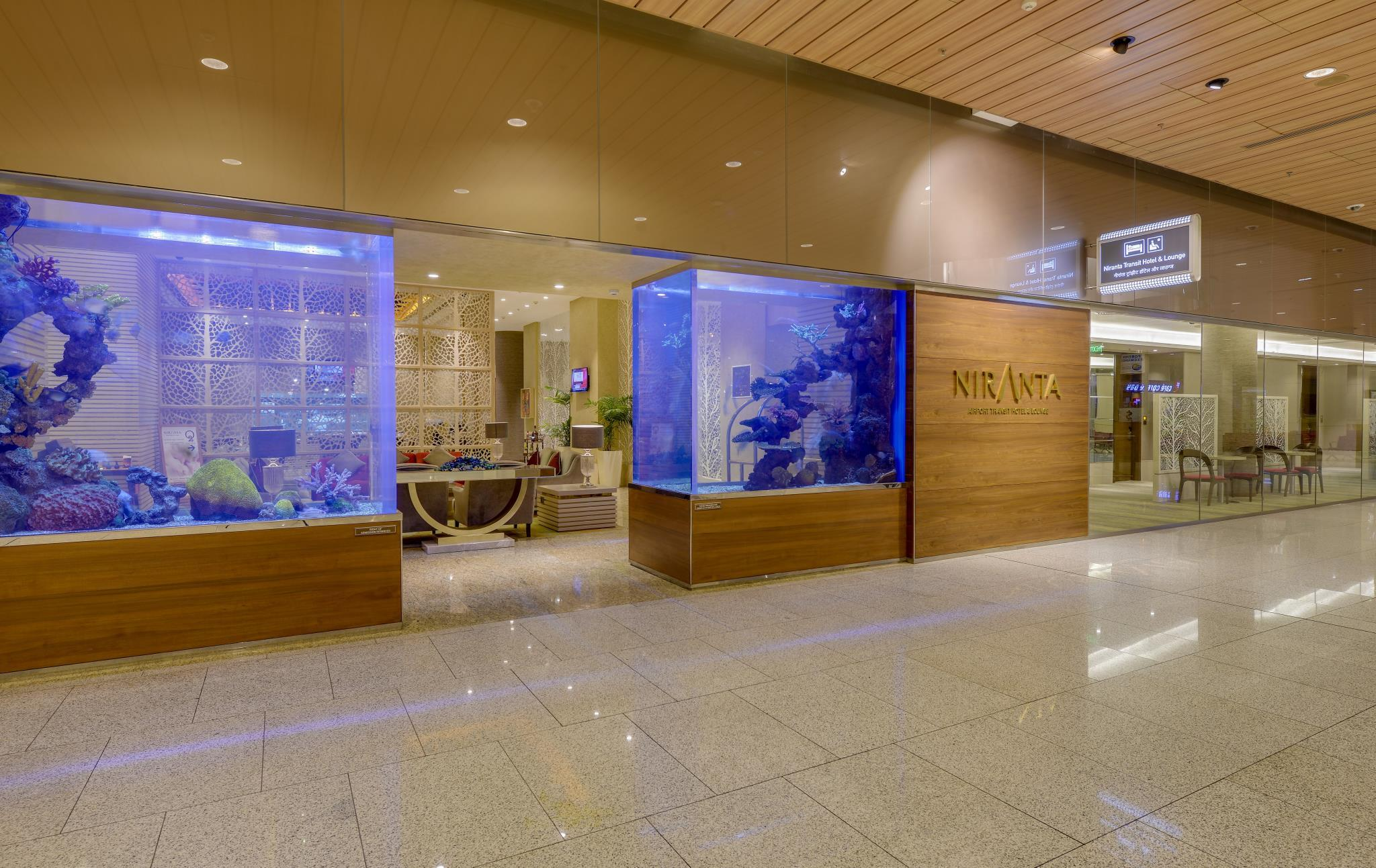 Niranta Airport Transit Hotel & Lounge Terminal 2 Arrivals/Landside