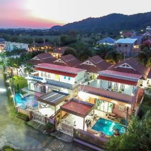 [ホアヒン市内中心地]ヴィラ(89m2)| 5ベッドルーム/3バスルーム BaanViewtalay Huahin Pool Villa